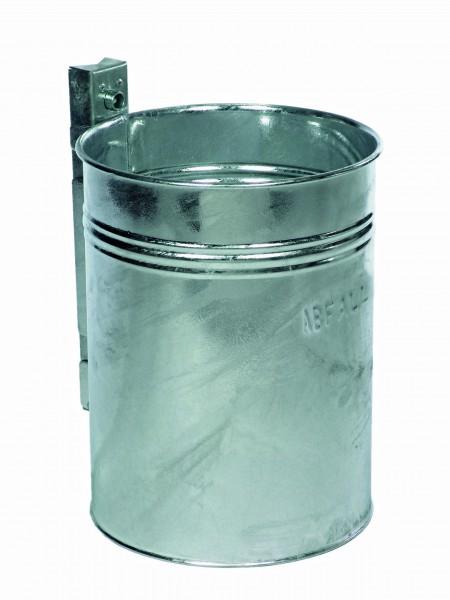 Rund-Abfallbehälter in verstärkter Ausführung