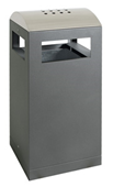 Sortsystem A³-40-AA, Abfallsammler/Ascher f. Außen