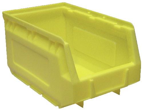 Lagersichtkasten gelb
