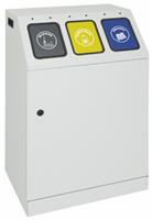 Sortsystem Triplex, kompakter 3-fach Sammler