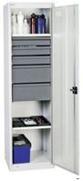 Werkzeug- und Materialschrank, Serie 3000
