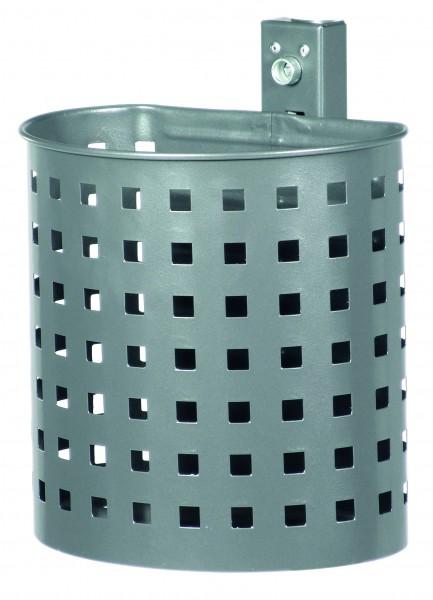Halbrund-Abfallbehälter