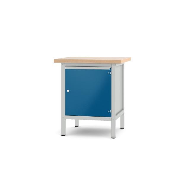 Werkbank Typ 11 S 4 lichtgrau enzianblau