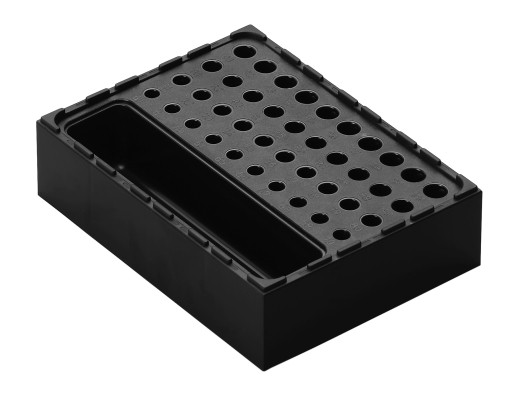 Kunststoff Box aus ABS - Raster 6 x 8