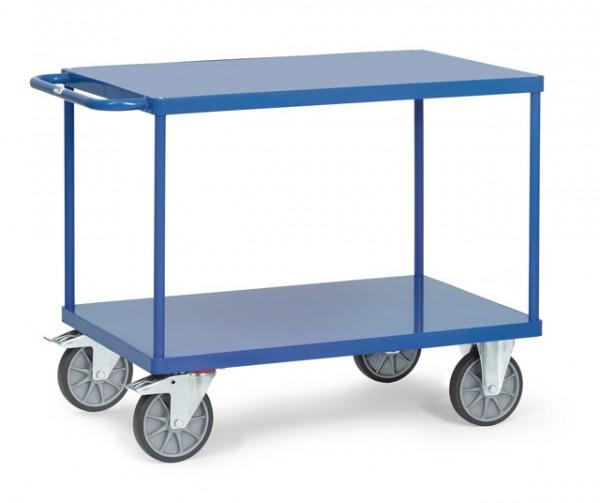 Tischwagen 2400 B mit Stahlblech-Plattformen
