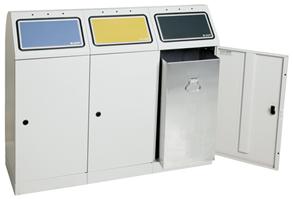 Sortsystem Flex-M - 3-fach Station