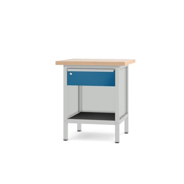 Werkbank Typ 11 S 1 lichtgrau enzianblau