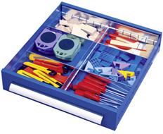 Schubladen-Einteilungsset Serie ST 420 plus