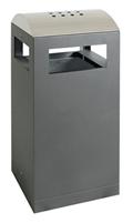 Sortsystem A³-90-AA, Abfallsammler/Ascher f. Außen